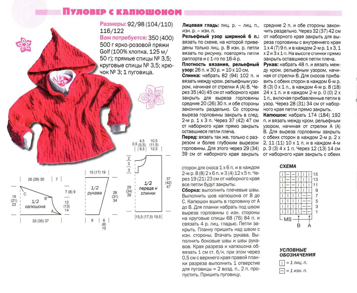 Вязанные пальто для детей схема