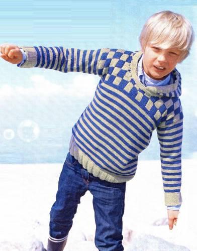 Пуловер С Косами Для Девочки Доставка